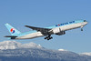 Korean Air Boeing 777-2B5 ER HL7574 (msn 28444) YVR (Steve Bailey). Image: 936520.