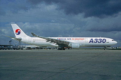 "Rare  1994 ""A330 25th Anniversary"" markings"