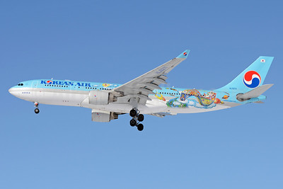 Korean Air Airbus A330-223 HL8211 (msn 1133) (Future Artist Olympiad - 4th Children's Art) SVO (OSDU). Image: 911702.