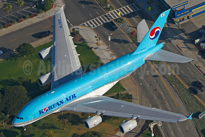 Korean Air Airbus A380-861 HL7612 (msn 039) LAX  (Bjoern Schmitt). Image: 923932.