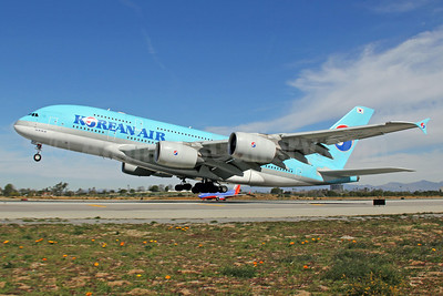 Korean Air Airbus A380-861 HL7612 (msn 039) LAX. Image: 912448.