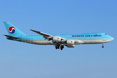 Korean Air Cargo Boeing 747-8HTF HL7610 (msn 37133) LAX (Michael B. Ing). Image: 947383..