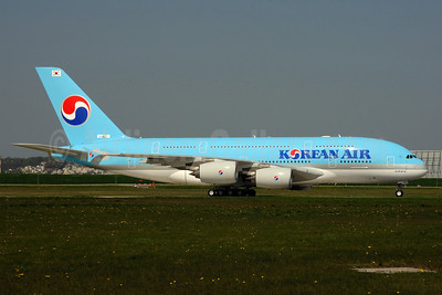 Korean Air Airbus A380-861 F-WWAT (HL7611) (msn 035) XFW (Gerd Beilfuss). Image: 906366.