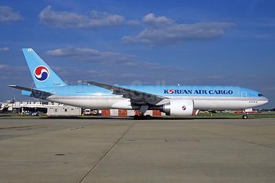 Korean Air Cargo Boeing 777-FB5 HL8285 (msn 37641) FRA (Jacques Guillem Collection). Image: 937095.