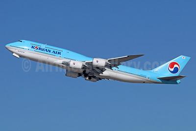 Korean Air's first passenger Boeing 747-8