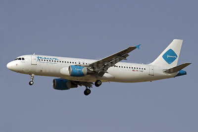 Jazeera Airways Airbus A320-214 9K-CAB (msn 2584) DXB (Paul Denton). Image: 909412.