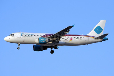 Jazeera Airways Airbus A320-214 9K-CAD (msn 2822) (VIVA Mobile) DXB (Paul Denton). Image: 909413.