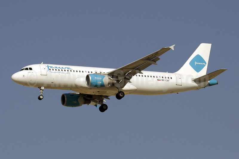 Jazeera Airways Airbus A320-214 9K-CAF (msn 3349) DXB (Paul Denton). Image: 909414.