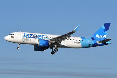 Jazeera Airways Airbus A320-251N WL 9K-CBB (msn 9002) LGW (Robbie Shaw). Image: 948487.
