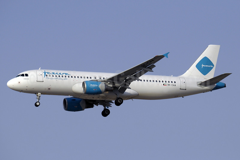 Jazeera Airways Airbus A320-214 9K-CAA (msn 2569) DXB (Paul Denton). Image: 909411.