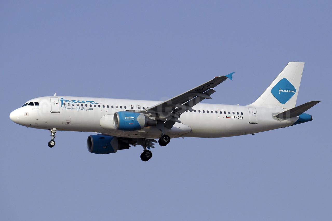 Jazeera Airways Airbus A320-214 9K-CAA (msn 2569) DXB (Paul Denton). Image: 909411.