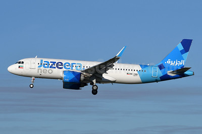 Jazeera Airways Airbus A320-251N WL 9K-CBB (msn 9002) LGW (Robbie Shaw). Image: 948488.