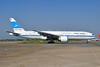 Kuwait Airways Boeing 777-269 ER 9K-AOB (msn 28744) LHR (Dave Glendinning). Image: 909159.