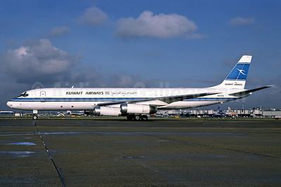 Kuwait Airways (ATI) McDonnell Douglas DC-8-62 (F) N61CX (msn 46142) LHR (Richard Vandervord). Image: 902464.