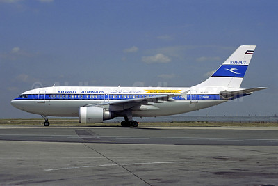 Kuwait Airways Airbus A310-304 A6-KUC (msn 472) (Do Not Forget Our POWs) CDG (Christian Volpati). Image: 908728.