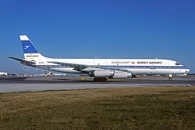 Kuwait Airways-ATI McDonnell Douglas DC-8-62 (F) N735PL (msn 46153) FRA (Christian Volpati Collection). Image: 933834.