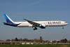 Kuwait Airways Boeing 777-369 ER 9K-AOF (msn 62564) LHR (SPA). Image: 937368.