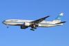 Kuwait Airways Boeing 777-269 ER 9K-AOB (msn 28744) LHR (Keith Burton). Image: 910935.