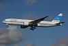 Kuwait Airways Boeing 777-269 ER 9K-AOB (msn 28744) LHR (SPA). Image: 925232.