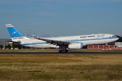 Kuwait Airways Airbus A330-243 9K-APA (msn 1626) FRA (Bernhard Ross). Image: 928876.