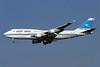 Kuwait Airways Boeing 747-469M 9K-ADE (msn 27338) LHR (Antony J. Best). Image: 900558.