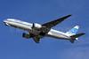 Kuwait Airways Boeing 777-269 ER 9K-AOB (msn 28744) LHR (Keith Burton). Image: 901580.