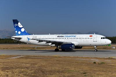 Avia Traffic Company Airbus A320-231 EX-32007 (msn 406) AYT (Ton Jochems). Image: 947486.
