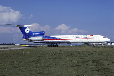 Kyrgyzstan Airlines Tupolev Tu-154M EX-85762 (msn 92A945) MUC (Christian Volpati Collection). Image: 949211.