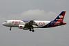 Bassaka Air Airbus A320-214 XU-112 (msn 648) PNH (Jay Selman). Image: 402103.