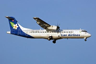 Lao Airlines ATR 72-212A (ATR 72-500) RDPL-34174 (msn 878) BKK (Jay Selman). Image: 402240.