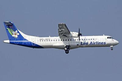 Lao Airlines ATR 72-212A (ATR 72-500) RDPL-34173 (msn 870) BKK (Michael B. Ing). Image: 911496.