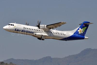 Lao Airlines ATR 72-212A (ATR 72-500) RDPL-34175 (msn 929) LPQ (Robbie Shaw). Image: 926140.