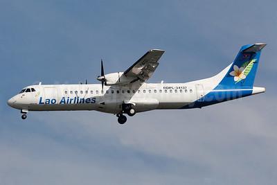 Lao Airlines ATR 72-202 RDPL-34137 (msn 316) BKK (Guillaume Besnard). Image: 911495.