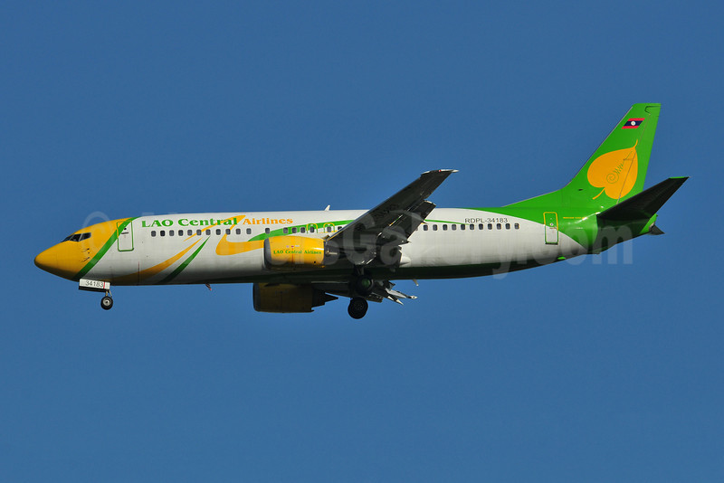 Lao Central Airlines Boeing 737-4K5 RDPL-34183 (msn 24127) BKK (Ken Petersen). Image: 908610.