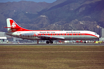 Royal Air Lao Sud Aviation SE.210 Caravelle 3 XW-PNH (msn 83) HKG (Christian Volpati). Image: 947358.