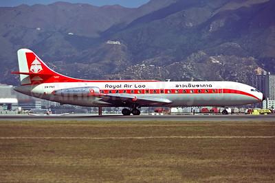 Royal Air Lao Sud Aviation SE.210 Caravelle 3 XW-PNH (msn 83) HKG (Christian Volpati). Image: 947358.