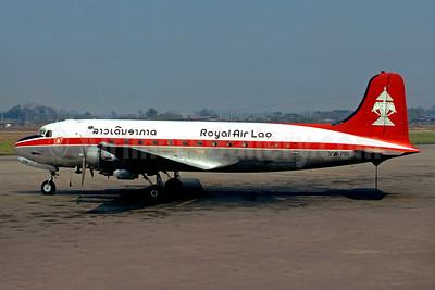 Royal Air Lao Douglas C-54A-15-DC (DC-4) XW-PNI (RDPL-44003) (msn 10420) VTE (Christian Volpati). Image: 901690.