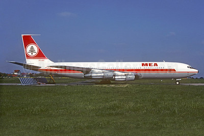 MEA-Middle East Airlines Boeing 707-323C OD-AHC (msn 19589) ORY (Christian Volpati Collection). Image: 935705.