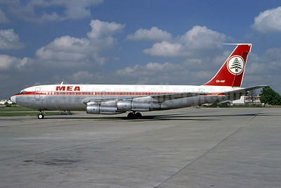 MEA (Middle East Airlines) Boeing 720-047B OD-AGF (msn 18830) ORY (Jacques Guillem). Image: 949402.