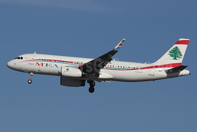 MEA-Middle East Airlines Airbus A320-232 WL T7-MRF (msn 7006) LHR (SPA). Image: 941133.