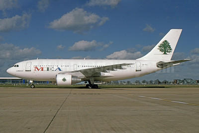 MEA-Middle East Airlines Airbus A310-222 3B-STJ (msn 350) LHR (SPA). Image: 930861.