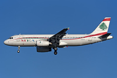 MEA-Middle East Airlines Airbus A320-232 OD-MRO (msn 4296) LHR (Rolf Wallner). Image: 940683.