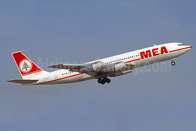 MEA-Middle East Airlines Boeing 707-3B4C OD-AFD (msn 20259) (Christian Volpati Collection). Image: 935706.
