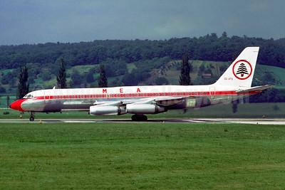 MEA-Middle East Airlines - Air Liban Convair 990-30A-5 OD-AFG (msn 30-10-30) ZRH (Jacques Guillem Collection). Image: 951480.