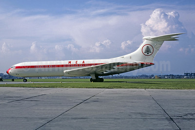Leased from Laker Airways on January 30, 1968