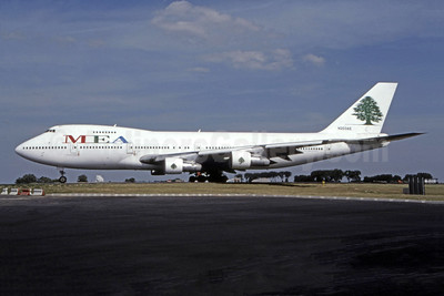 MEA-Middle East Airlines Boeing 747-2B4B N203AE (msn 21098) CDG (Christian Volpati). Image: 944379.