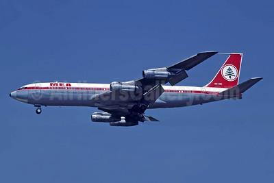 MEA (Middle East Airlines) Boeing 707-323C OD-AHE (msn 19516) ATH (Richard Vandervord). Image: 954451.