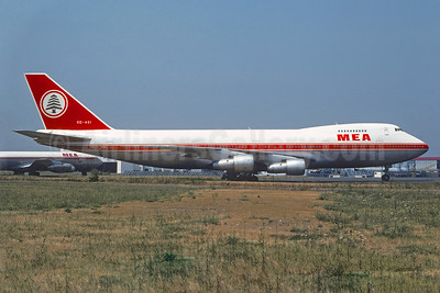 MEA-Middle East Airlines Boeing 747-2B4B OD-AGI (msn 21098) ORY (Christian Volpati). Image: 939826.