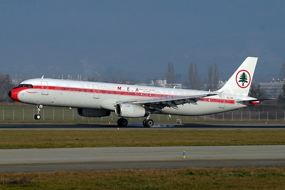 MEA-Middle East Airlines-Air Liban Airbus A321-231 OD-RMI (msn 1977) GVA (Paul Denton). Image: 935702.