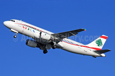 MEA-Middle East Airlines Airbus A320-214 T7-MRC (msn 5253) LHR (SPA). Image: 927069.